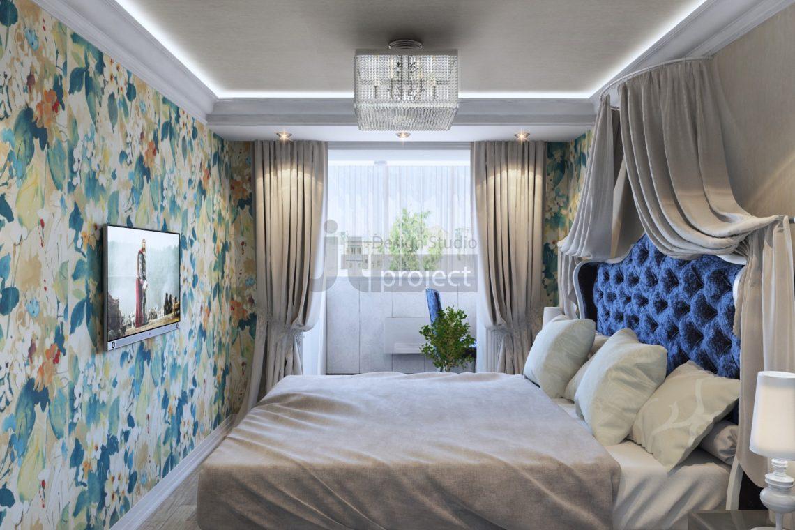 Дизайн Спальная комната Володарского