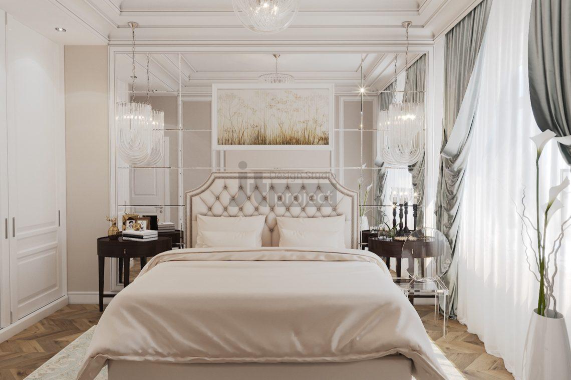 Интерьер Гостевой спальной в Истра Вилладж Парус