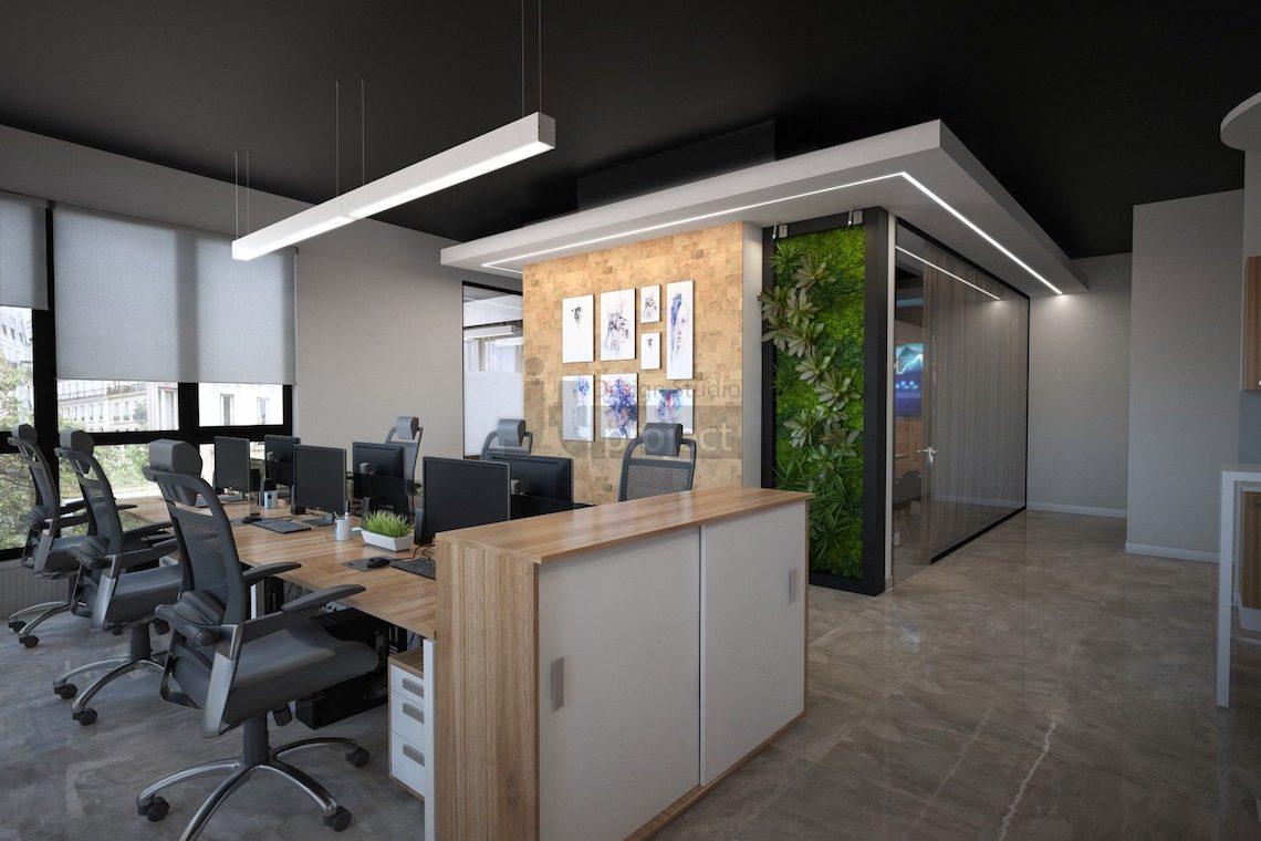 Дизайн офиса оператор