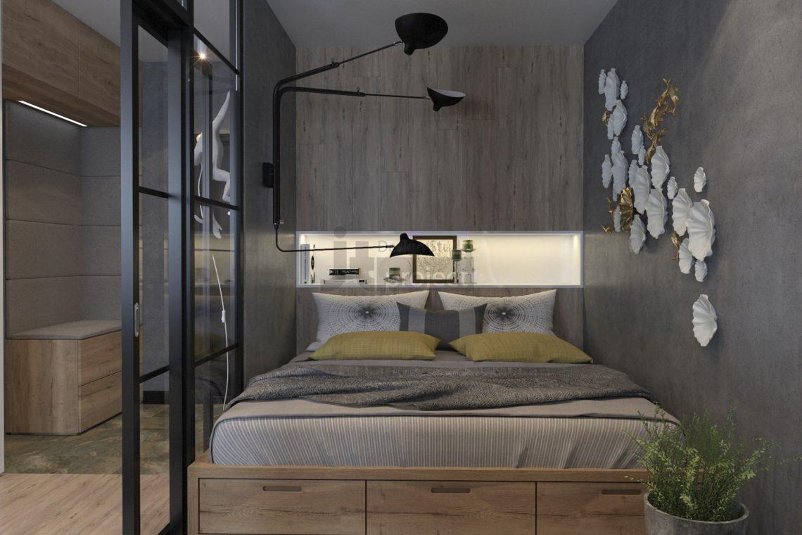 Дизайн Спальни Гарсоньерка Wellton Park