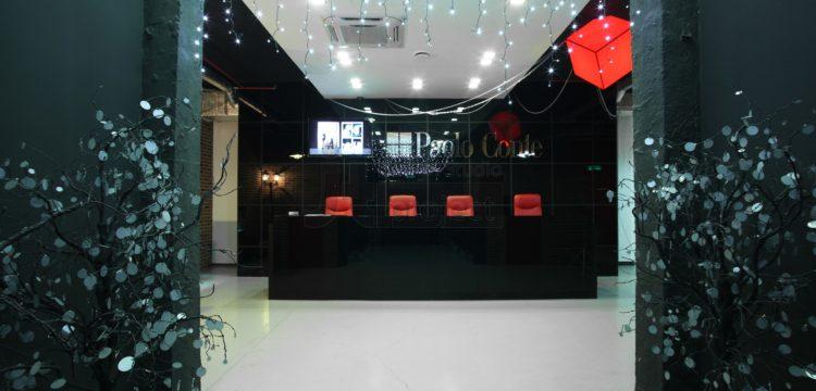 Дизайн Ресепшн офиса компании Paolo Conte