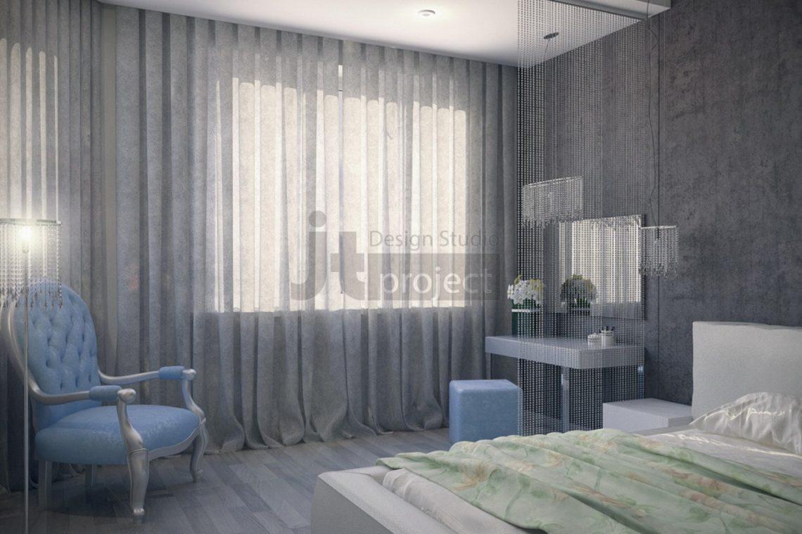 Дизайн Спальная комната ЖК Dominion