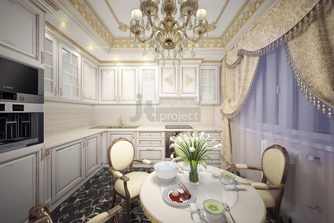 Интерьер квартиры на Перовской