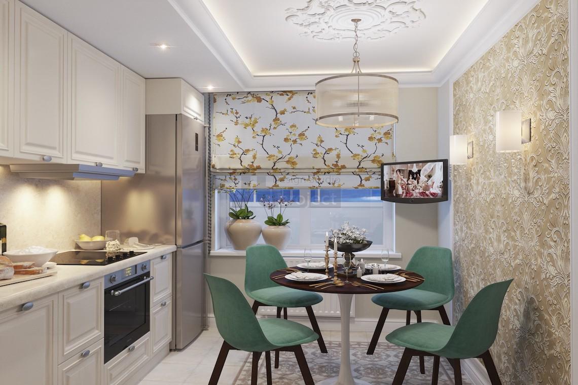 Дизайн кухни в Москве