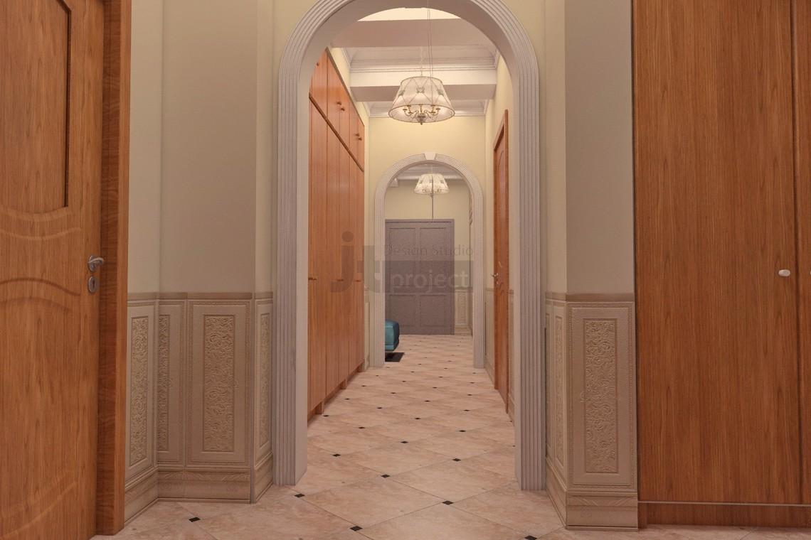 Интерьер коридора москва