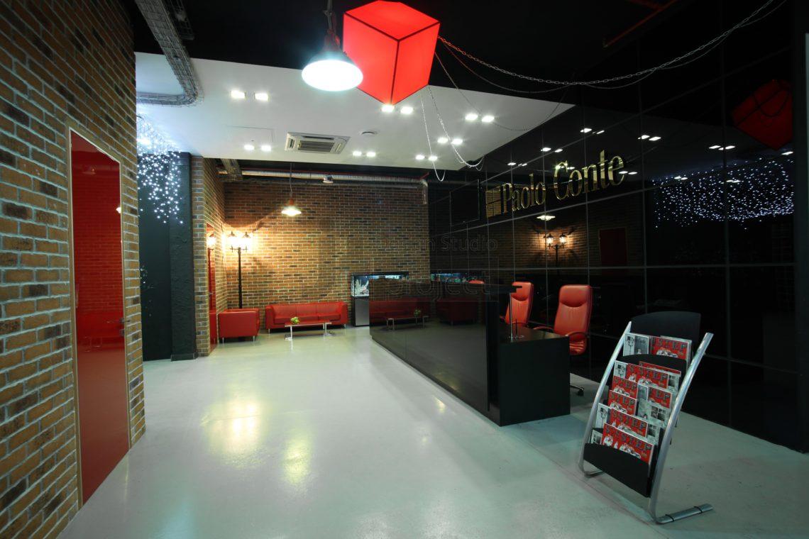 Ресепшн офиса компании Paolo Contel
