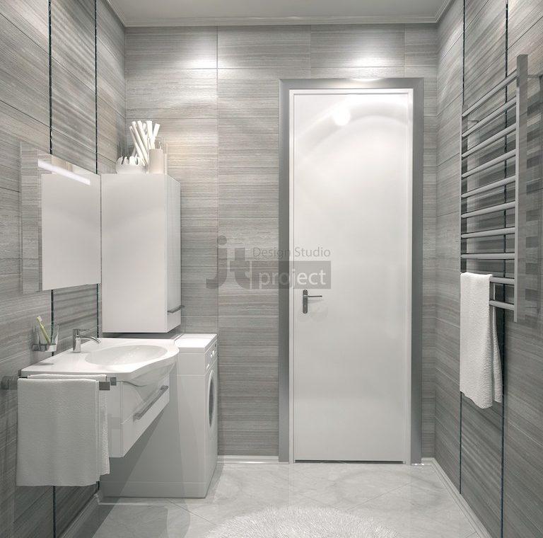 дизайн интерьера Ванная комната ЖК Dominion