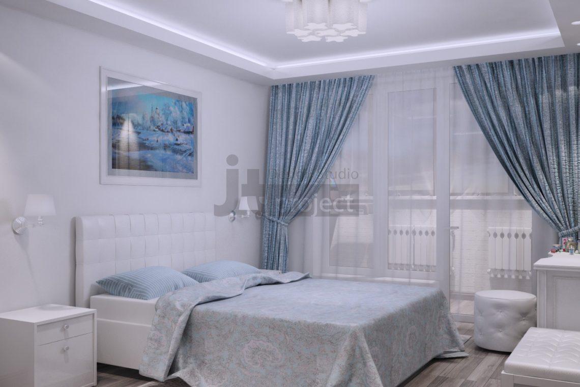 Дизайн Спальной комнаты UP-квартал