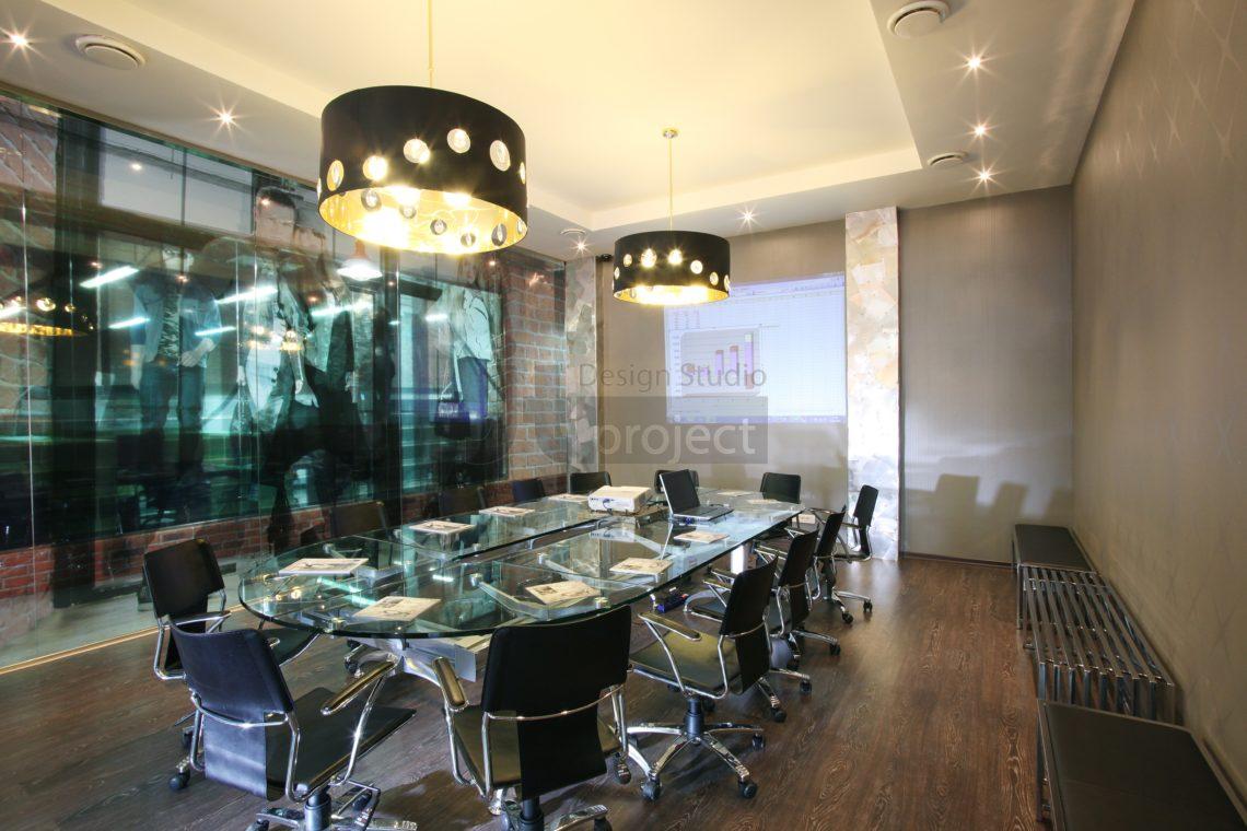 Интерьер Переговорной комнаты компании Paolo Conte