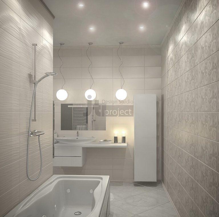 Интерьер Ванная комната ЖК Dominion