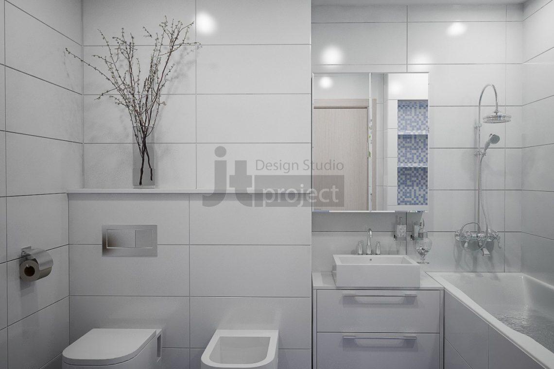 Интерьер Ванная комната ЖК UP-квартал