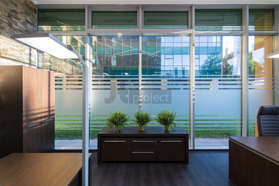 Дизайн кабинет Trans Oil в Бухаресте