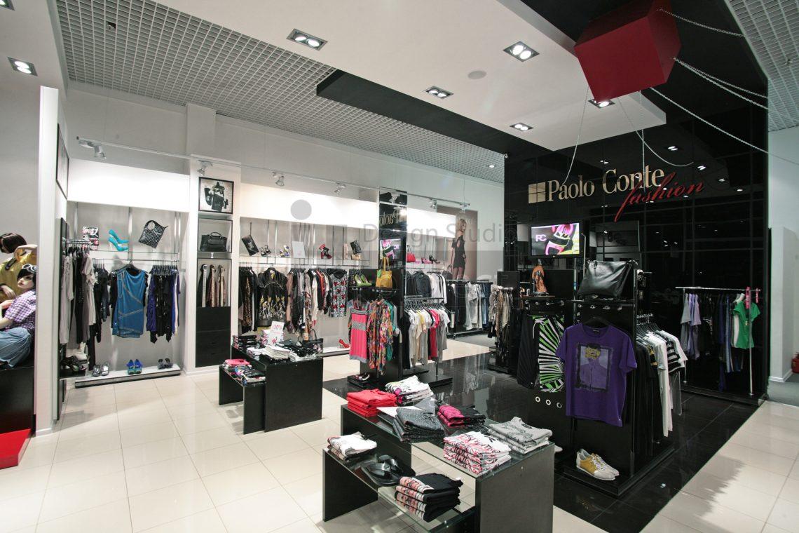Дизайн проект Магазина Paolo Conte Fashion