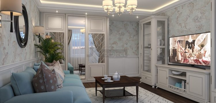 Дизайн квартиры гостиная