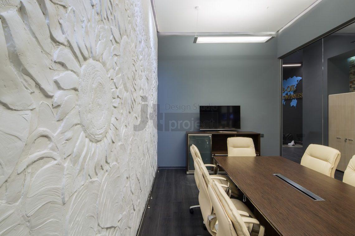Дизайн Переговорная комната Trans Oil в Бухаресте