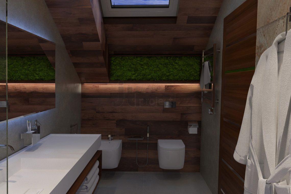 Интерьер гостевой ванной Дом в Ростове-на-Дону