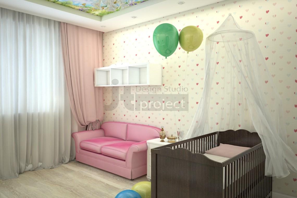 Дизайн ЖК Чернышевский детская