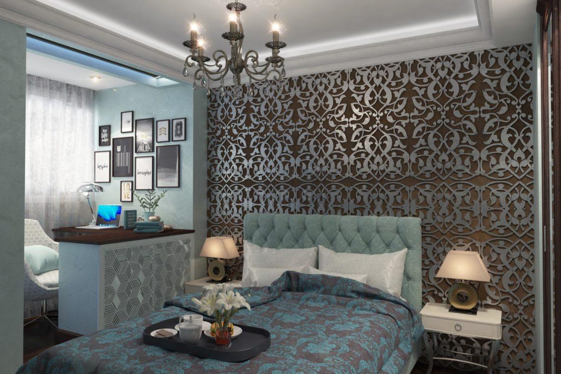 Дизайн Спальная комната ЖК Wellton Park