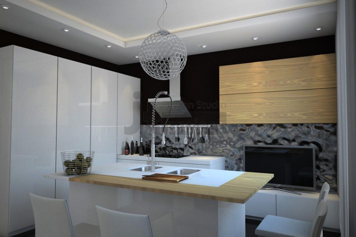 Интерьер кухня ЖК Dominion