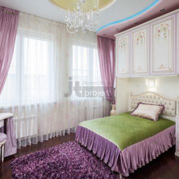 Интерьер детской комнаты комнаты ЖК Петровский