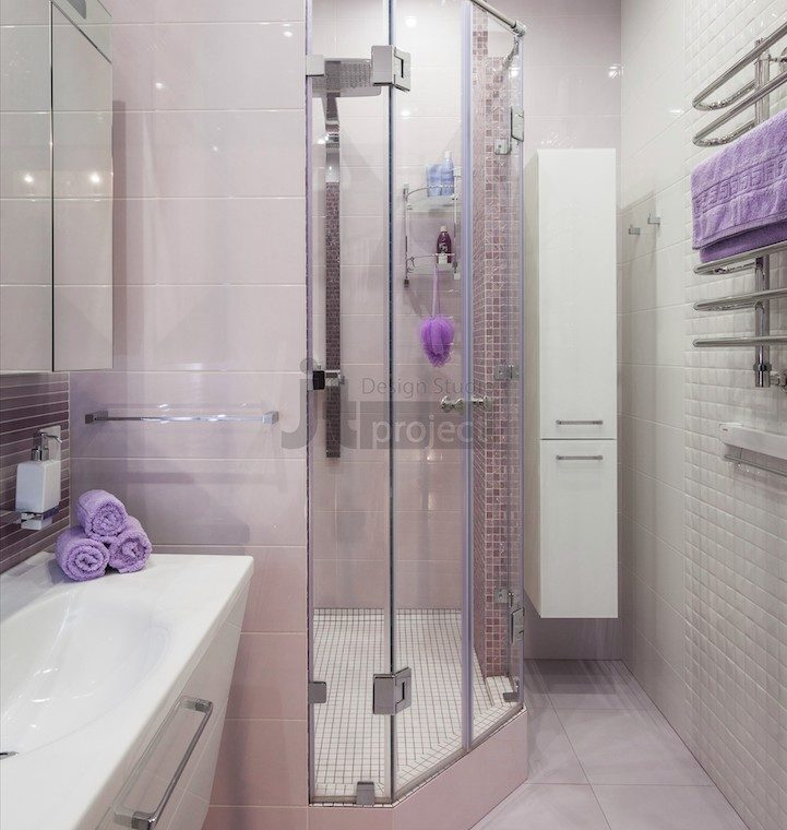 Дизайн ванной комнаты ЖК Петровский парк