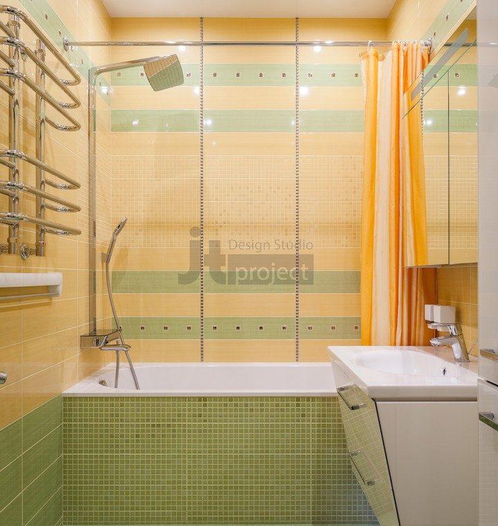 Ванная комната интерьер ЖК Петровский парк