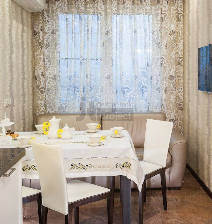 Интерьер кухни ЖК Петровский парк
