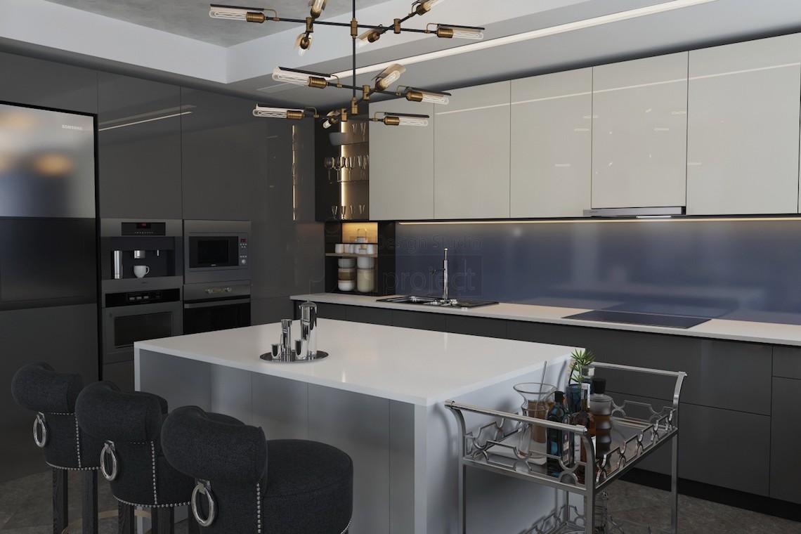 Дизайн кухни дом в ростове на дону