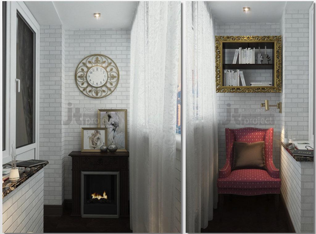 Bedroom loggia